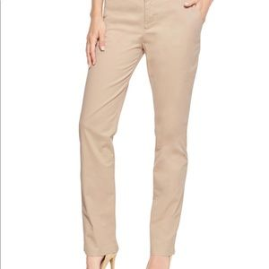 Izod light tan khaki chino straight leg guc 8